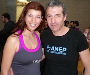 Ingravito Pilates con Javier Martinez, Presidente de ANEP.